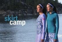 Skirtcamp Camo Print