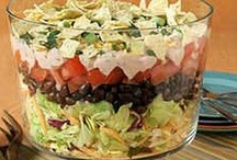 Food....Salads & Dressings / by May Collins