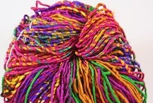 Designer Yarns / Various yarns & fiber from designers from around the world. / by Bobbie Asche