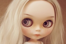Customs dolls - Blythes and Groove dolls