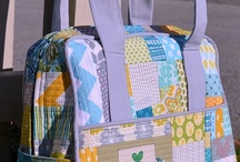 Quilted weekend bag tips