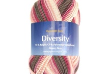 Yarn / Thread by Plymouth Yarn / interesting color combinations / by Bobbie Asche