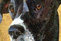 vidrio, mosaico y mas / by Elisabet Vilchez