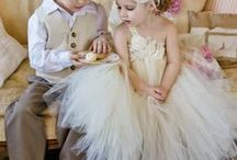 Little Ones + Wedding / Sweet Flower Girls + Ring Bearers