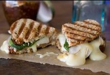 Sangwich / The most delicious, cheesy, melty sandwiches EVER! Get in my mouth! / by Tobhiyah Monroe