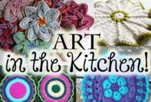 Dishcloth patterns / Knitted and crocheted dishcloths and facewashers