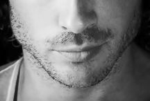 Hot and hairy men / Hot dudes with facial hair. Yum.