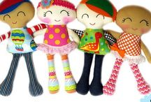 Dolls / Knit, crochet, sew: for gifts and charity.
