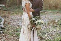 Bride and Groom Wedding Portraits / Wedding photography inspiration and wedding couple's poses for engaged couples and wedding photographers.