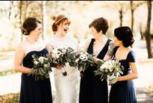 Navy Weddings / Don't let this dark color fool you, navy is perfect for your big day. Whether found in the slightest details or even your bridal party's attire, navy weddings are sophisticated and timeless. This classic color is sure to look gorgeous in pictures for years to come!