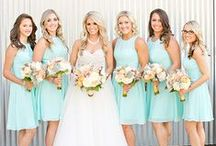 Mint Weddings / Looking for a fresh color to brighten your big day? Look no further! Mint weddings are cool and bright, adding the perfect pop of color from bridal party attire to decoration details. Check out our favorite things about mint.