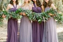 Purple Weddings / Purple is the color of luxury. From majestic jewel tones to soft lilac hues, purple weddings are classy and classic. Looking for a color that will complement the masses? Because purple is a universally complementing color, it will look great for any aspect of you big day!