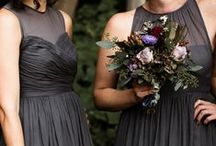 Grey Weddings / While grey isn't the brightest color on the spectrum, that doesn't mean it's not perfect for your nuptials. Grey weddings are fabulous year round and offer a neutral platform for you to incorporate a multitude of colors into the details of your big day.  See what we love!