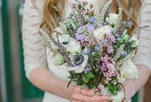 Wedding Flowers + Bouquets / From pretty pink petals to dazzling brooch ensembles and everything in between, how's a bride to choose wedding flowers and bouquets? Here are some of our favorite big day bouquets!