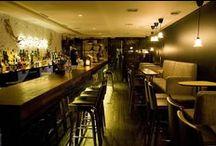 Bar à cocktails lyonnais / L'Heure Bleue c'est aussi le moment d'un afterwork, d'une pause dégustation de cocktails dans des ambiances variées.