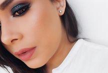 Makeup / makeup, makeup ideas, makeup looks, beauty, lipstick, contour, how to contour, eye liner ideas,