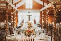 Wedding Décor + Details / From flowers to lighting to colors and theme, there is a lot to think about when it comes to wedding décor and details. See some of our favorite ideas for your big day!
