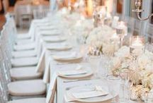 Champagne Weddings / Pop the bubbly and say I do! Champagne weddings are the perfect and subtle hue to celebrate your big day. From decorations to attire, see why this color is perfect.