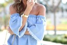 Off the Shoulder Trend / off the shoulder trend, off the shoulder tops, off the shoulder dresses, clothing, women fashion, tops, dresses, red off the shoulder top, off the shoulder looks, off the shoulder outfits