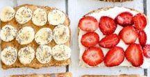 Easy Breakfasts / easy breakfast, breakfast ideas, healthy breakfast,