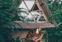 // Unique Vacation Rentals // / That perfectly unique vacation rental, airBnB, or boutique hotel in a far off land that will transport you to a different world.