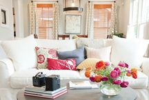 Living room / by Kate Neideigh