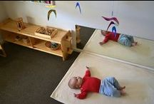 Montessori at Home / Ideas for creating a montessori environment (especially for babies and toddlers)