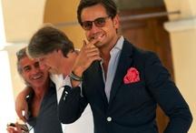 Manly Men / handsome men, men's couture, bow ties, stylish gents, suits, class / by Nora Dorhmi