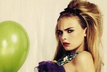 Cara Delevingne / by Genevieve Young