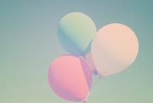 Pastel hues