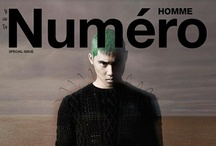 #NumeroMagazine - #Thailand Homme / All covers for Thailand version of Numero Homme magazine
