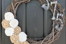 Wreaths / by Kate Neideigh