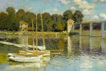 Claude Monet / Enjoy dozens of beautiful paintings by Claude Monet - One of France's greatest impressionist artists.