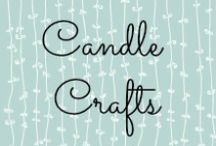 Candle Creative / For the love of candles, crafts with candles, love the scents!