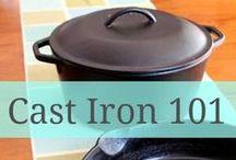 Cast Iron Cooking / by Karen Weaver