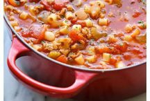 Soups and Chili / by Kate Neideigh