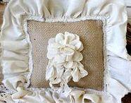 Burlap Crafts / Burlap uses