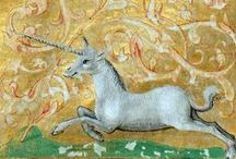 """Unicorn in Art / """"Great heroes need great sorrows and burdens, or half their greatness goes unnoticed. It is all part of the fairy tale.""""  ― Peter S. Beagle, The Last Unicorn"""