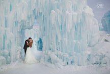 Winter Weddings / Winter wedding photography inspiration #winterweddings #winterwedding #snowywedding #weddingphotography #wedding by ENV Photography - www.envphotography.com