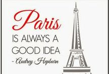 Dreaming of Paris / For people who dream of going to Paris or reminisce about their time in Paris. Pinning images of life and love from the City of Lights!