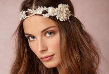 Wedding Bridal Headpieces & Accesories & hair styles Tocados de Novia / Bridal head accesories & hair styles  / by Nartha R.Arzatec