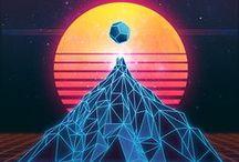 New Retro Wave / by Sean Eshbaugh