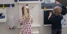 kid learning station ideas