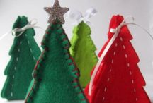 Christmas Craft Ideas & Christmas Decorations / Christmas DIYs, decor and festive crafts