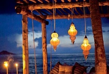 Evenings made pretty / I've got a thing for lighting up the night. / by Debra Douglas