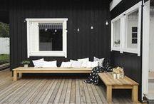 exteriors + outside living.