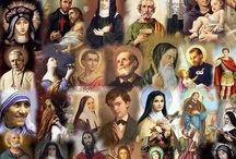 All You Holy Saints...Pray for us / by Ashley Mayer