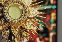"""Eucharistic Adoration..""""O Sacrament Most Holy, O Sacrament Divine"""" / """"Each moment that you spend with Jesus will deepen your union with Him & make your soul everlastingly more glorious & and beautiful in Heaven, & will help bring everlasting peace on earth"""" ~  Blessed Mother Teresa of Caulutta / by Ashley Mayer"""