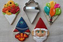 Cookie Ideas & How To's / I can cookiefy that - Creative use of cutters - How To's / by Daan Bos