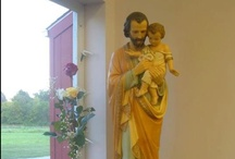 St. Joseph...Pray for Us / O great St. Joseph, you were completely obedient to the guidance of the Holy Spirit. Obtain for me the grace to know the state of life that God in His providence has chosen for me. Since my happiness on earth, and perhaps even my final happiness in heaven, depends on this choice, let me not be deceived in making it. Obtain for me the light to know God's Will, to carry it out faithfully, and to choose the vocation which will lead me to a happy eternity. Amen. / by Ashley Mayer